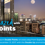 Promoción otoño Hilton Honors: DOBLE de puntos Honors (y extra para socios Diamond)
