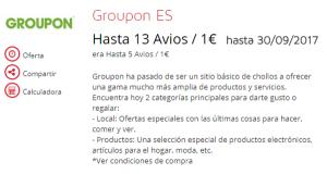 Otra vez: compra Avios con Groupon, ¡desde 0.00845€ por Avios!