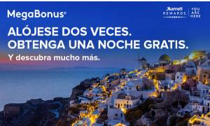 El MegaBonus otoño 2017 de Marriott Rewards: 2 estancias pagadas = 1 noche regalo