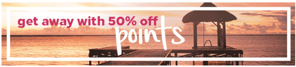 Compra puntos Hilton Honors con un 50% de descuento