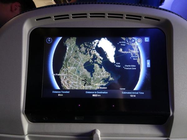 Turista British Airways: sistema entretenimiento personal.