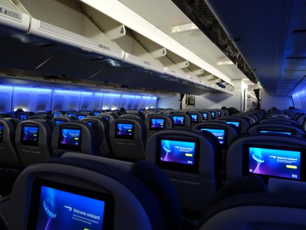 Turista British Airways: Boeing 747 Super High J