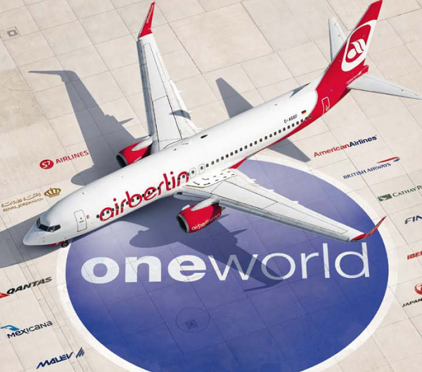 Air Berlin abandona oneworld