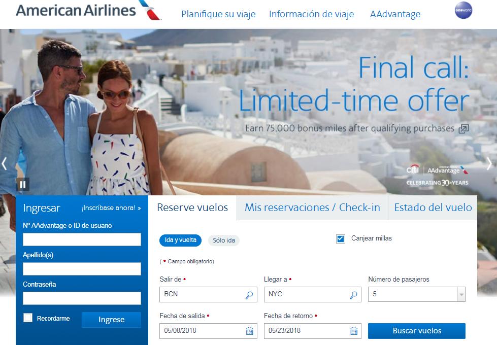 Cómo buscar disponibilidad de plazas con Avios #6