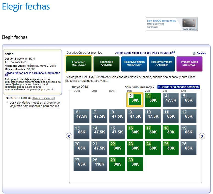 Cómo buscar disponibilidad de plazas con Avios #8