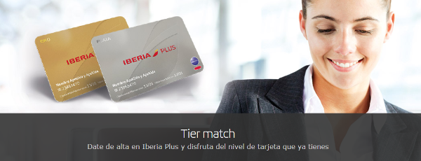 Iberia Plus iguala la categoría de tu tarjeta topbonus y/o Miles&More