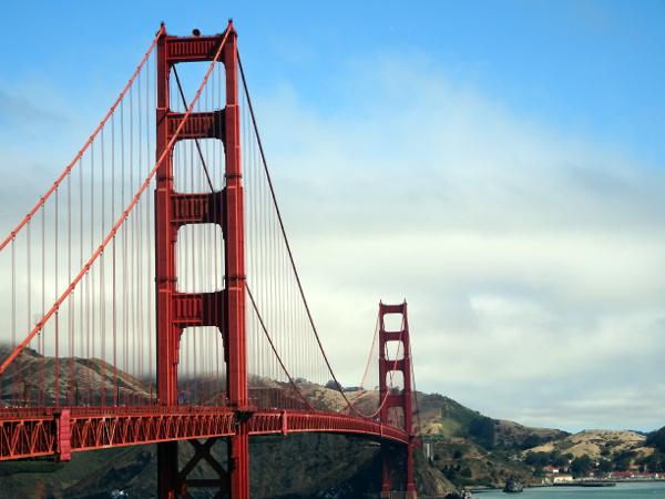 Golden Gate Bridge, en San Francisco.