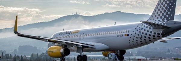 Oferta de Vueling con vuelos desde 14.99 Eur.