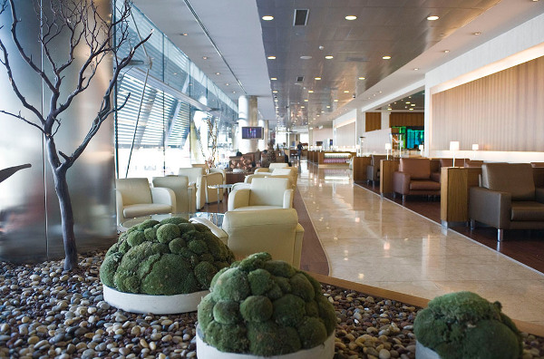 Foto de archivo: Sala VIP Iberia Velázquez
