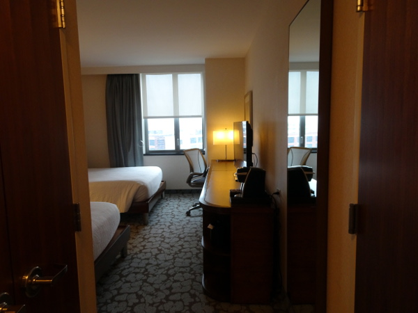 Hilton Garden Inn Long Island City: habitación, entrada