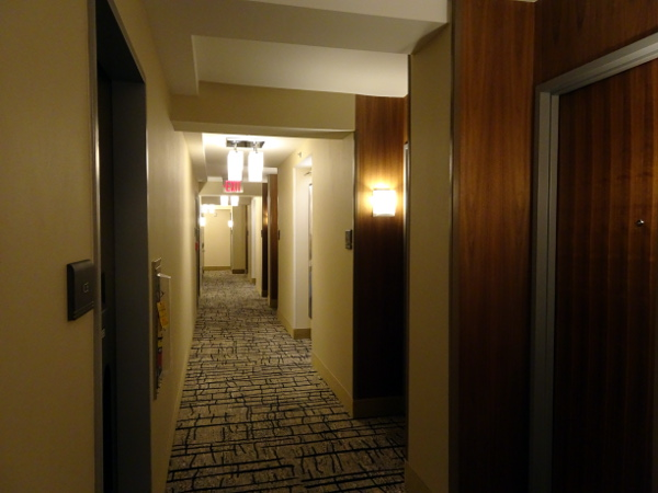Hilton Garden Inn Long Island City: pasillo