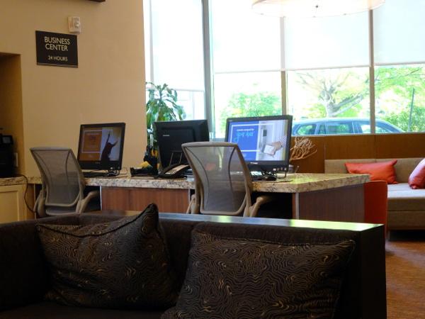 Hilton Garden Inn Long Island City: Business Center