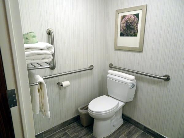 Hilton Garden Inn Long Island City: lavabo.