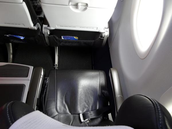 Asientos Club Europe de British Airways.