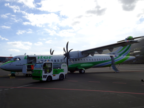 Un ATR 72-600 de Binter Canarias.