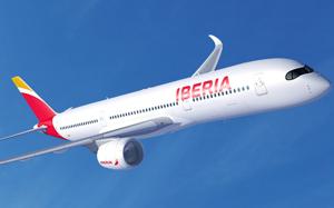 Iberia confirma primer destino A350, 350 Avios con el tenedor, hasta 3.000 puntos LCAH con Europcar