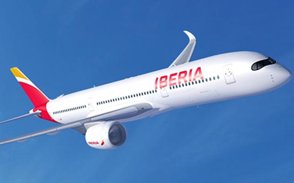 Londres y Nueva York con el A350 de Iberia.