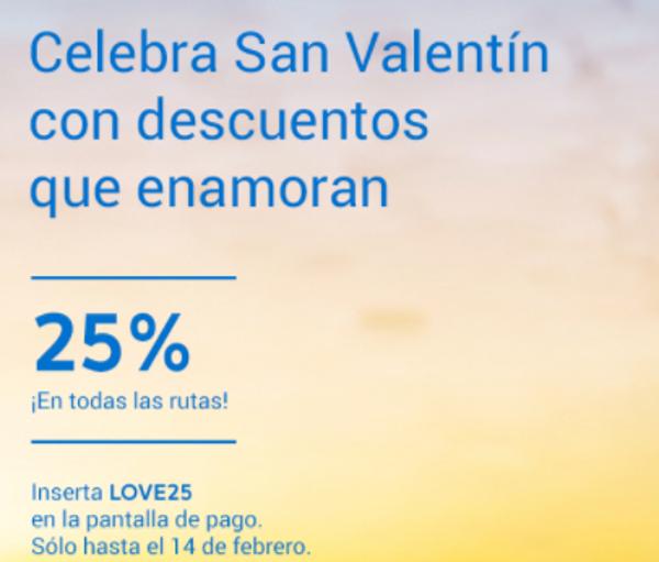 25% descuento Air Europa