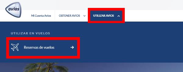 Buscar vuelos en Avios.com #1