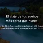 """Mañana lunes descubriremos la nueva promo """"hasta 50% descuento en Avios"""" de Iberia Cards (Iberia Icon)"""