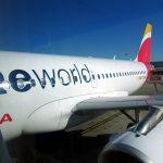 Volando Iberia Business en un A319: Roma – Madrid