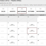 Calendario de búsqueda vuelos con Avios de Iberia Plus, IbPlus corrige San Francisco/Managua, interesante promo Avis-Flying Blue