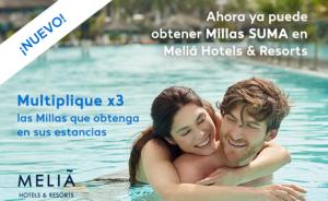 Air Europa SUMA promo abril 2018, triple millas SUMA con Meliá