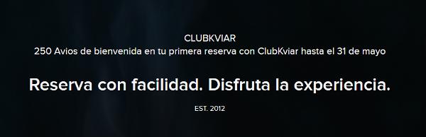 250 Avios con ClubKviar.