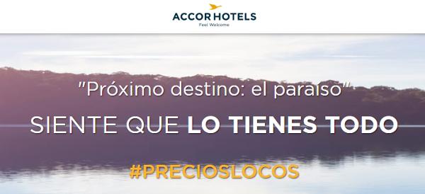Precios locos de Accor Hotels.