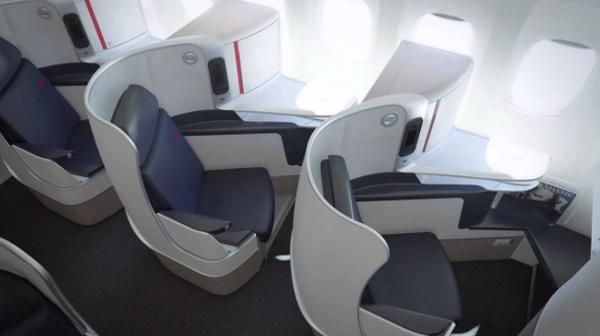 Clase Business de Air France - Boeing 787.