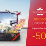 500 Avios eltenedor Iberia Plus, 250 EUR descuento tarjeta regalo Iberia
