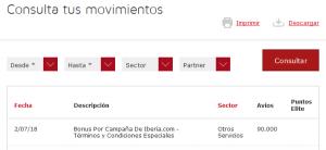Los 90.000 Avios de la promo de Iberia están en tu cuenta (o al caer)