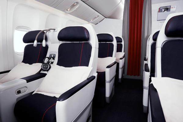 Clase Turista Premium de Air France: Ciudad de México por 21.250 millas.