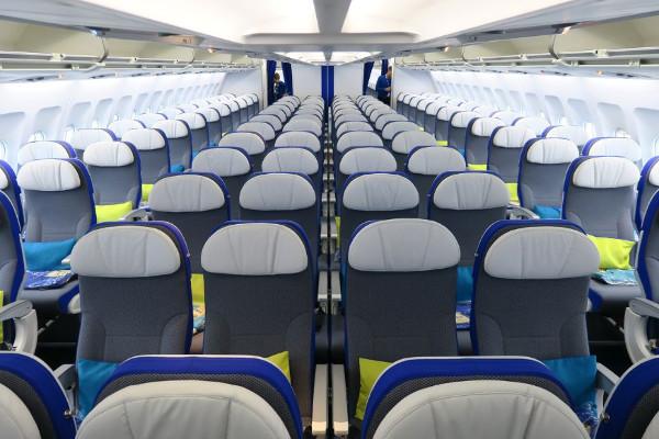 Clase Economy de Joon Airbus A340-300.