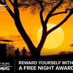 Marriott Rewards: 2 estancias pagadas, una noche gratis