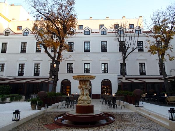 Jardín Gran Meliá Palacio de los Duques.