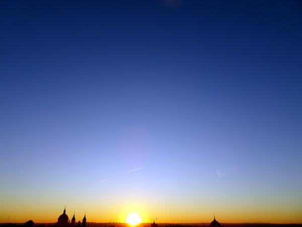 Vistas desde la azotea del Gran Meliá Palacio de los Duques.