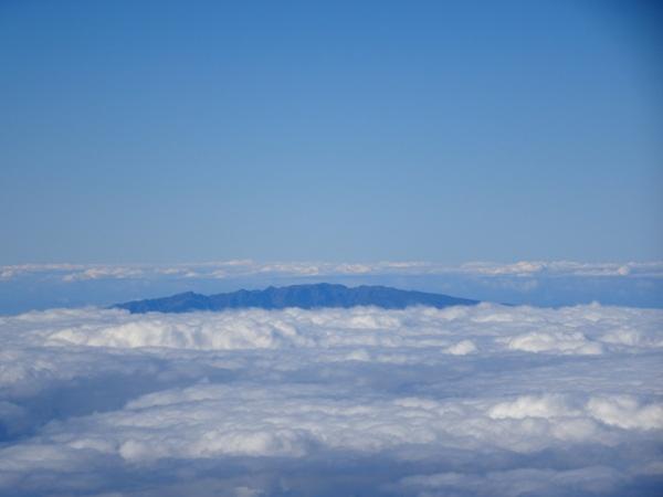 Llegando a La Palma.