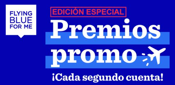 Premios Promo Edición Especial de Flying Blue.