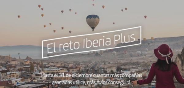 Reto Iberia Plus: acumula hasta 5.000 Avios.