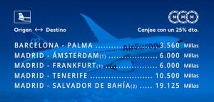 Promoción Air Europa Suma diciembre 2018: Brasil 19.125 millas, x4 NH Hoteles, compra nivel Suma Silver