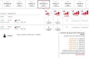 Iberia Plus: 50% descuento en Avios a Boston, Chicago y Nueva York