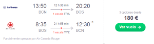 Norwegian ofrecerá WiFi (gratis) en vuelos intercontinentales, Air France desmantela Joon, 180 EUR BCN – Boston con Star Alliance