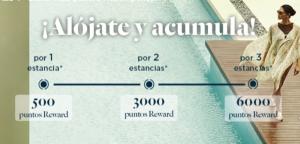 6.000 puntos Accor (120 EUR o 6.000 Avios) con 3 estancias en Accor Hotels + 500 puntos por reserva