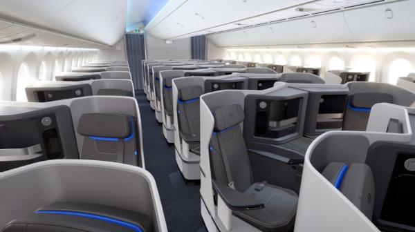 Nueva Cabina Business de Air Europa.