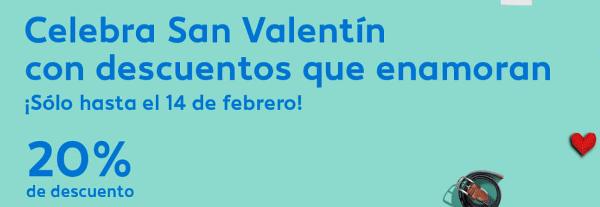 20% descuento *San Valentín* en Air Europa