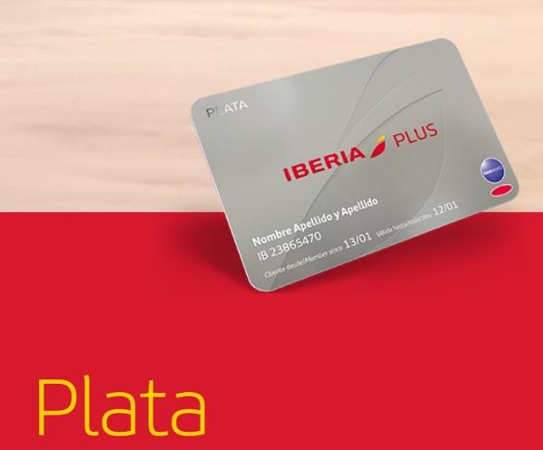 Todos los beneficios Iberia Plus Plata.