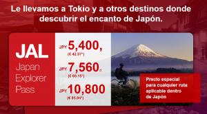 50 EUR descuento Air France a Japón, tarifa descuento JAL Japan Explorer Pass, destinos pibones Vueling