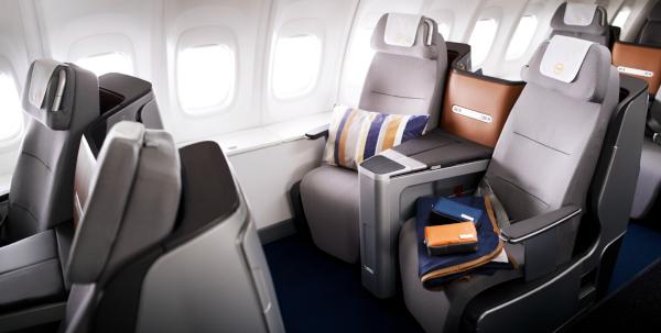 Clase Business de Lufthansa.