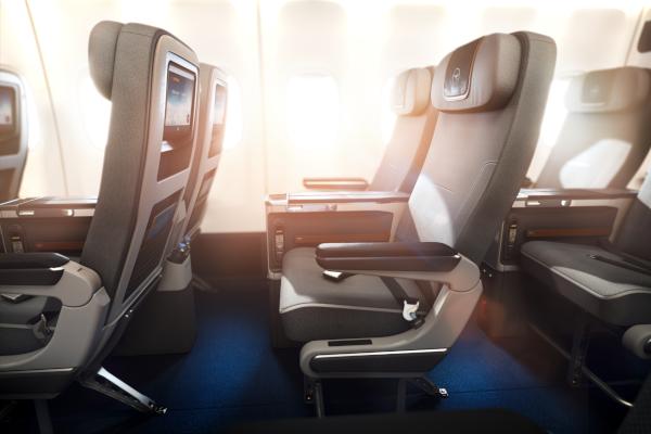 Butaca Turista Premium Lufthansa.